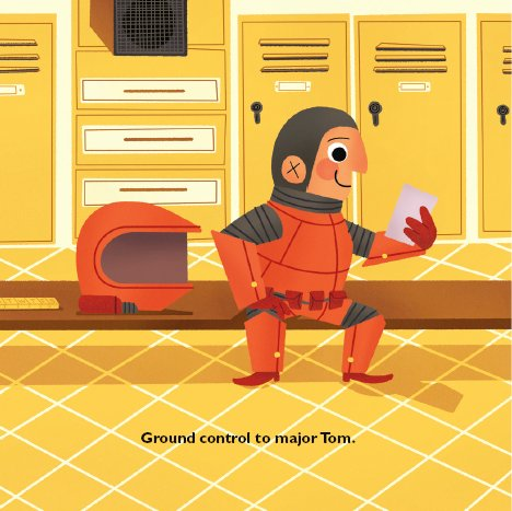 Space Oddity - a David Bowie inspired children's book
