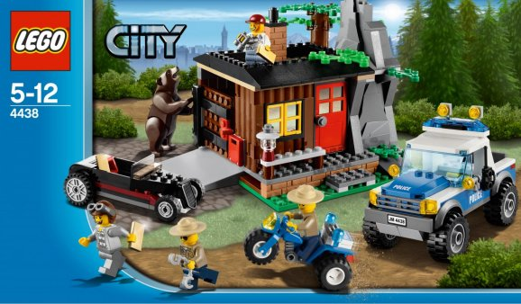 New LEGO set with bear and hillbilly