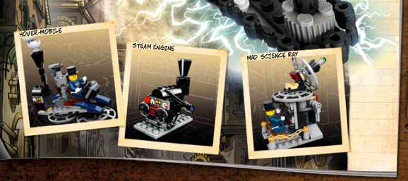 Lego Steampunk Hover Engine